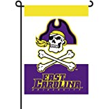 NCAA East Carolina Pirates 2 Sided Garden 