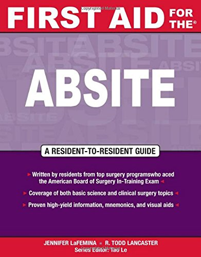 First Aid For The® Absite (First Aid Specialty Boards)