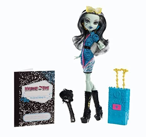 Monster High Travel Scaris Frankie Stein Doll by Mattel TOY (English Manual)
