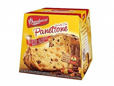 Panettone Sun-maid Cake, 26.2 Ounce from Bauducco Foods
