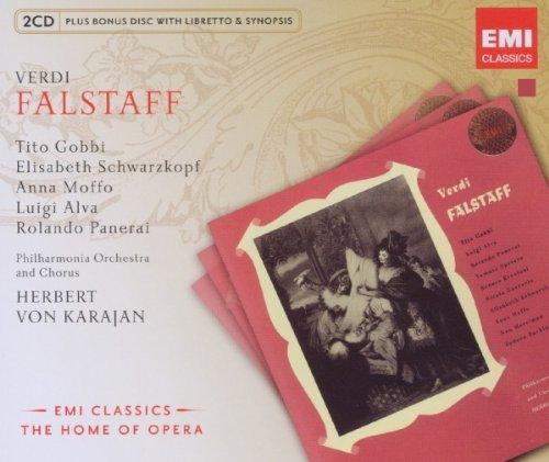 Falstaff (Karajan) - Verdi - CD