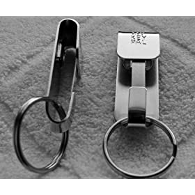 Heavy Duty Security Belt Clip Key-ID-Badge-Chain