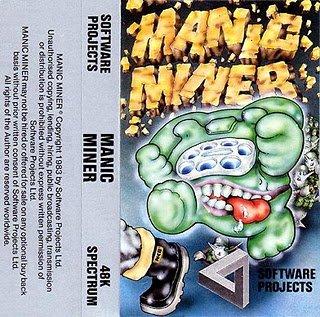 Manic Miner - Spectrum Cassette 48k