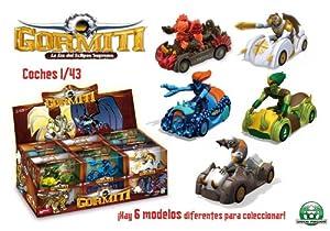 Mondo - 53162 - véhicule Miniature - Gormiti Car - Echelle 1/43 - Assortiment