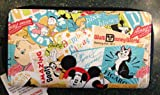 Disney Mickey Mouse Collage Clutch Wallet NEW
