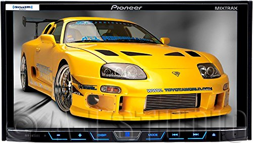 "Pioneer Avhx4700Bs Ddin/7""Screen/Dvd/Bt/Sirius/1C"