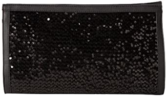 French Connection Animal Mania FCSC0023 Clutch,Black,One Size