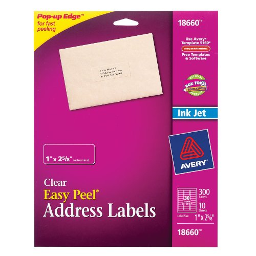 discount price avery easy peel mailing labels for ink jet With best place to order address labels