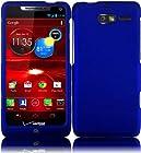 For Motorola Droid Razr M XT907 Hard Cover Case Blue