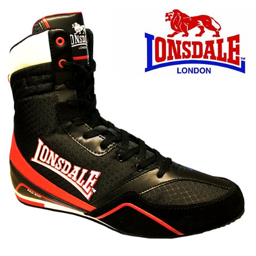 Lonsdale Quick Pro-BXR Black Boxing Boots Kids & Adults