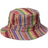 San Diego Hat Company Women's Reversible Fishermans Bucket Hat, Denim, One Size