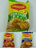 6 packs of Maggi Instant Noodle Soup - Chicken, Asam Laksa and Curry Flavour