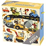 Mudpuppy Construction Jumbo Puzzle
