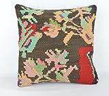 Wool Pillow, KP1067, Kilim Pillow, Decorative Pillows, Designer Pillows, Bohemian Decor, Bohemian Pillow, Accent Pillows, Throw Pillows