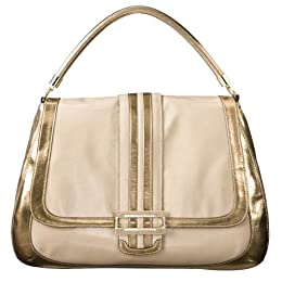 Anya Hindmarch® for Target® Large Shoulder Bag - Gold/ Cream : Target from target.com