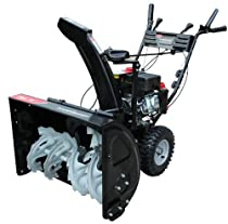 Hot Sale Power Smart DB7651A 28-inch 208cc LCT Gas Powered 2-Stage Snow Thrower with Electric Start