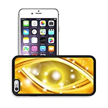 buy Luxlady Premium Apple Iphone 6 Plus Iphone 6S Plus Aluminum Backplate Bumper Snap Case Image Id 31023358 Abstract Gold Wavy Line Background