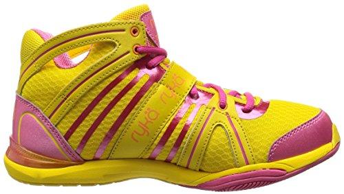 RYKA Women's Tenacity Cross-Training Shoe, Yellow/Pink, 8 ...