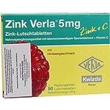 ZINK VERLA 5 mg Lutschtabl. Himbeere 50 St