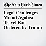Legal Challenges Mount Against Travel Ban Ordered by Trump | Alexander Burns