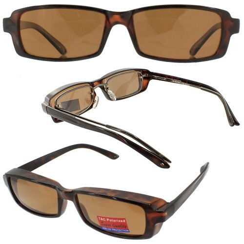 Slim Jim Mini Fit Over Sunglasses Copper Bronze Polarized Lenses