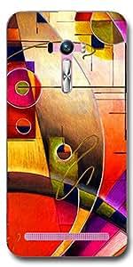 SEI HEI KI Back cover for Asus Zenfone Selfie ZD551KL-Multicolor