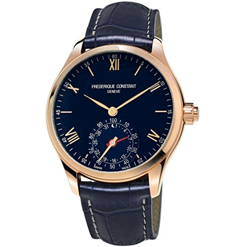 frederique-constant-mens-horological-smartwatch-42mm-blue-leather-band-quartz-analog-watch-fc-285n5b