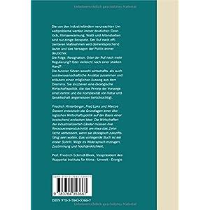Ökologische Wirtschaftspolitik: Zwischen Ökodiktatur und Umweltkatastrophe (Wuppertal Te
