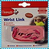 CLIPPASAFE WRIST LINK IN PINK COLOUR
