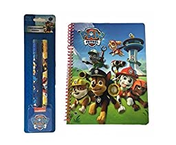 Paw Patrol Assorted Notebook and Pencils Kit (3 Pieces)