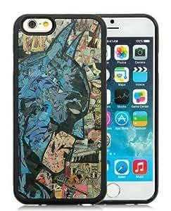 6 4.7 TPU Case,Retro Comic Batman Black iPhone 6 4.7 inch TPU case