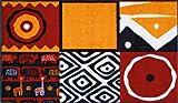 Fußmatte Afrikana orange 75×120 cm