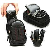 Navitech schwarze Digital Kamera Tasche für das Sony DSC-HX50 / DSC-RX100M2 / DSC-RX1R / DSC-RX100 / DSC-RX1 / DSC-HX50 / DSC-HX20V / DSC-WX300 / DSC-WX200 / DSC-WX80 / DSC-WX60 / DSC-TX30 / DSC-TF1