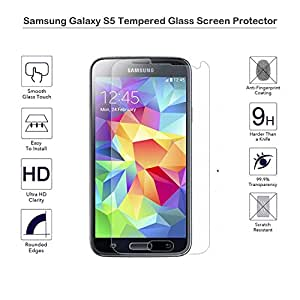 MOTONG Samsung Galaxy S5 Screen Protector Premium HD Clear Film