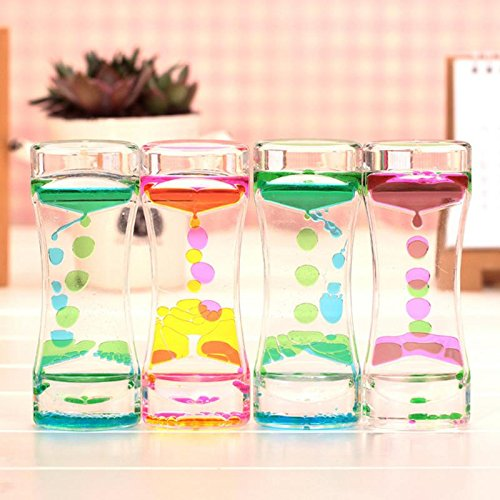 Oil Clock Floating Color Mix Illusion Timer Liquid Motion Visual Desk Toy Decor -Pier 27 (Visual Timer For Toddler compare prices)
