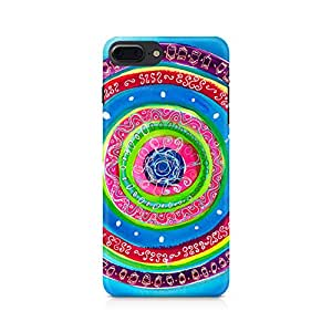 NXT GEN Concentric Circle Doodle Premium Printed Mobile Back Case For Apple iPhone 7 Plus