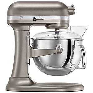 KitchenAid KP26M1XNP Professional 600 Series 6-Quart Bowl-Lift Stand Mixer, Nickel Pearl