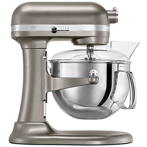Kitchenaid Stand Mixer - 6 qt - Pro 600 - Nickel Pearl