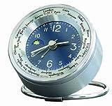 EMPEX (エンペックス) 置時計 ワールドタイム24A サン&ムーン WT-2496 ブルー