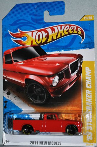 Hot Wheels 2011 '63 STUDEBAKER CHAMP Goodyear Tires 1:64 #29/244 NEW MODELS