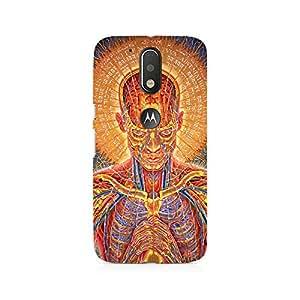 Ebby Human Mantra Premium Printed Case For Moto G4/G4 Plus