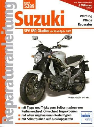 Suzuki Gladius 650 ccm V2 neues