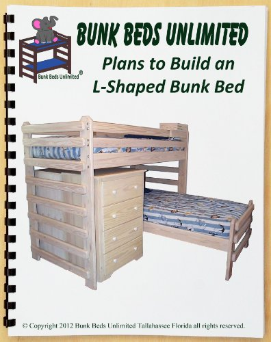 Woodworking plans for l shaped bunk beds quick for Bunk bed woodworking plans