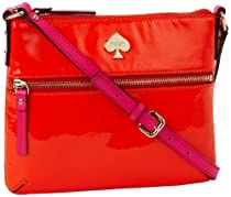 Hot Sale Kate Spade New York Flicker Tenley PWRU3205 Cross Body,Marachino,One Size
