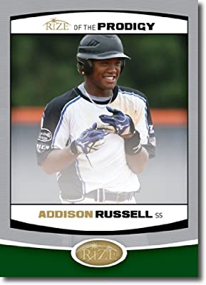 2012 RIZE Draft Prodigy Paragon Card #P-16 Addison Russell - Oakland Athletics (Rookie / Prospect Insert) MLB Baseball Trading Cards