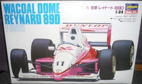 #23005 Hasegawa Hobby Kits Wacoal Dome Reynard 89 D F3000 1/24 Plastic Model Kit,Needs Assembly