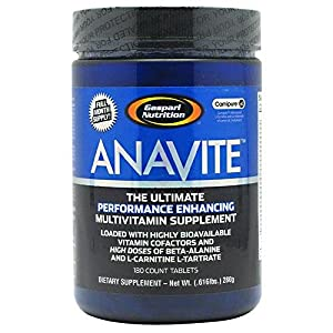 Gaspari Nutrition Anavite, 180-Tablets