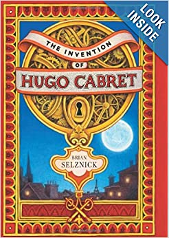 Thorough book review of The Invention of Hugo Cabret by Brian Selznick ~ What My Kids Read