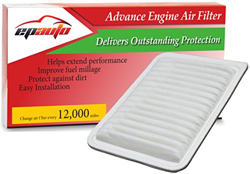 EPAuto GP171 (CA10171) Rigid Panel Engine Air Filter for Camry (2007-2015), Venza L4 (2009-2015)