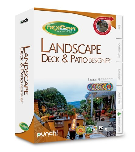 Punch! Landscape, Deck & Patio Nexgen